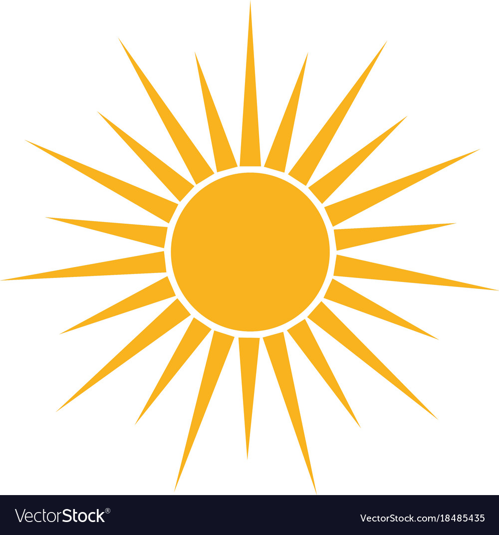 isolated sun icon royalty free vector image vectorstock sunburst transparent vector sunburst transparent vector