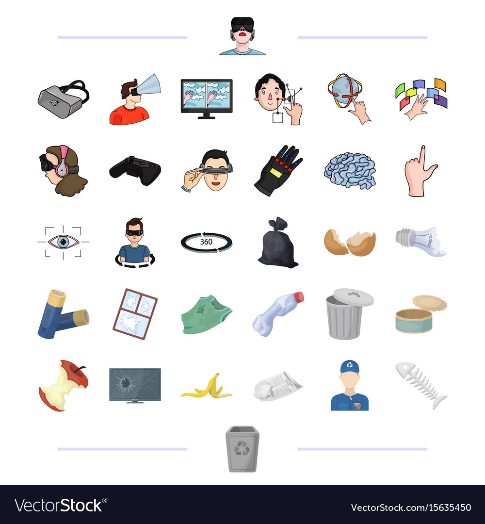 Urn technology computer and other web icon in vector image