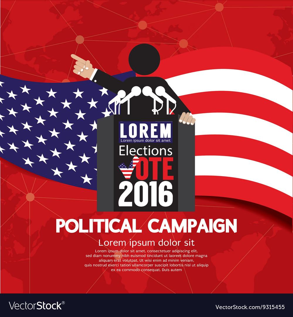Political Campaign Banner