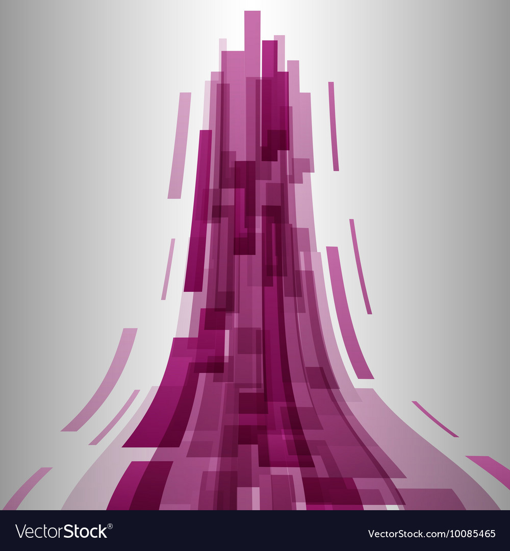Abstract pink elements technology background