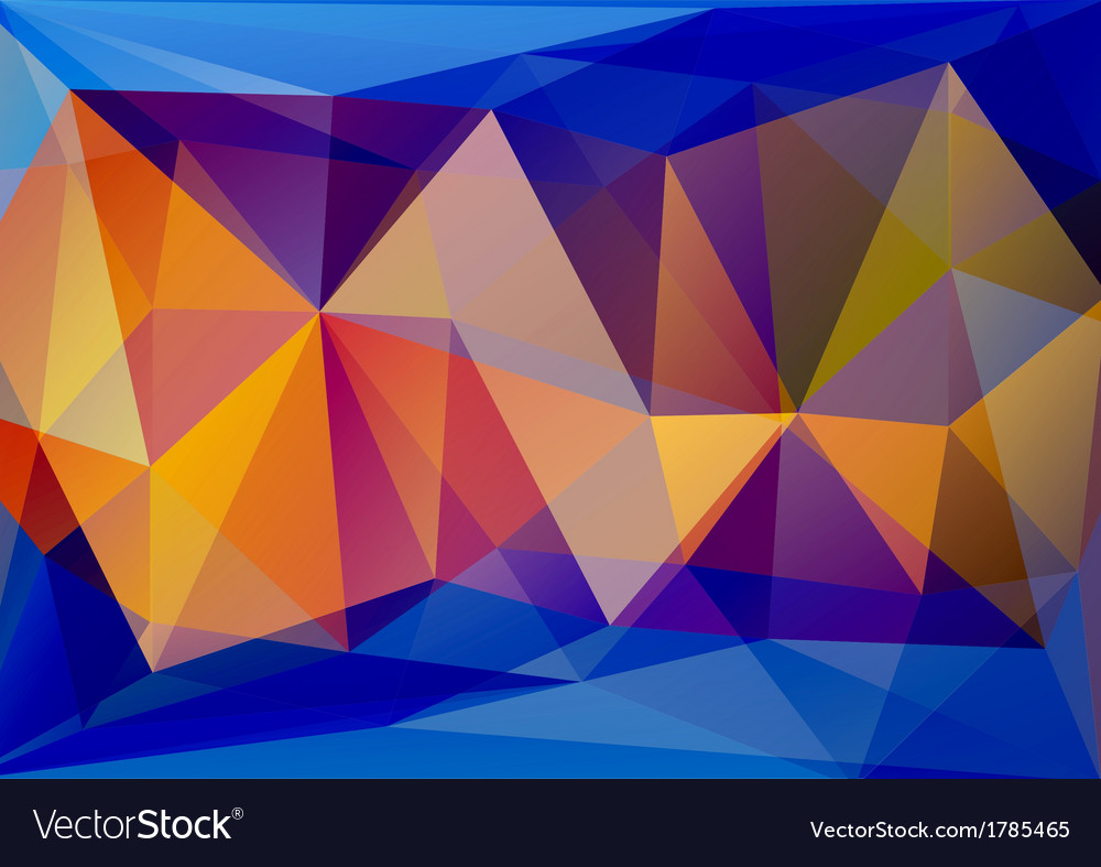 Abstract polygone background