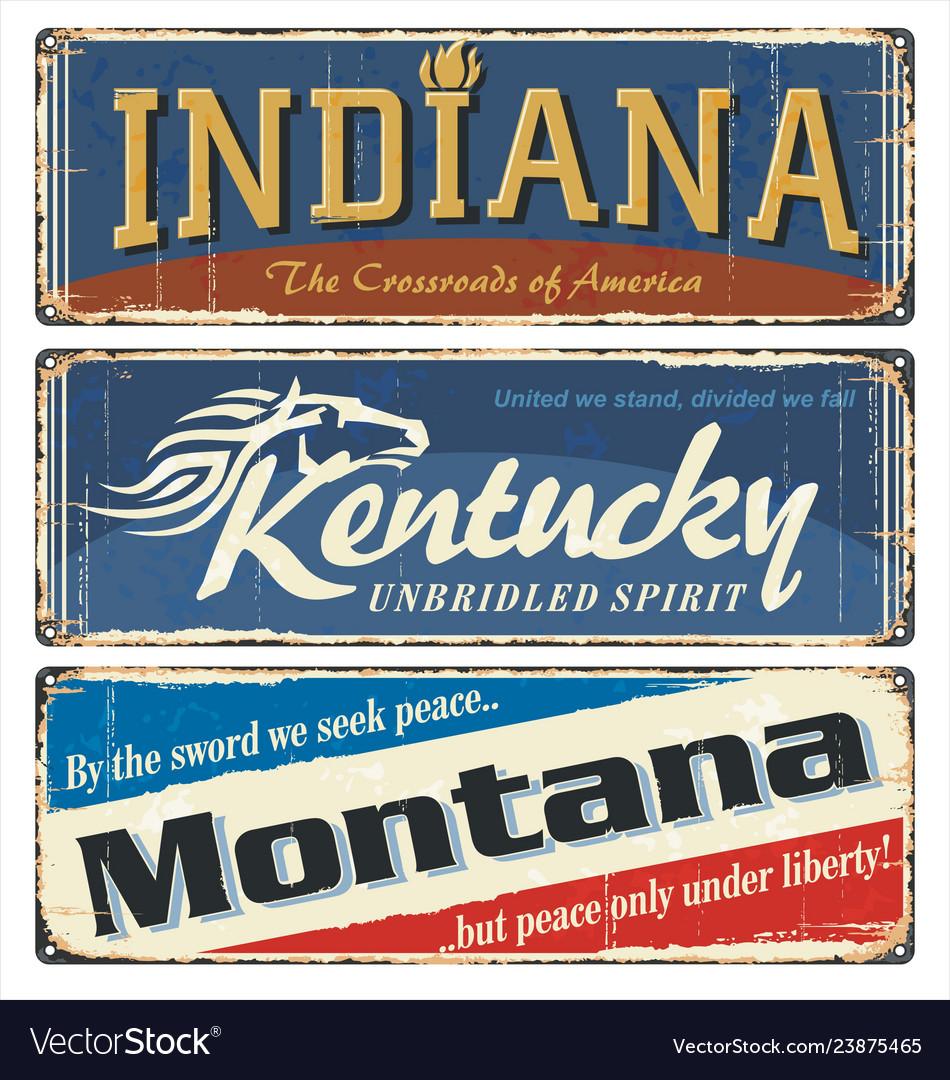 Indiana kentucky montana all states
