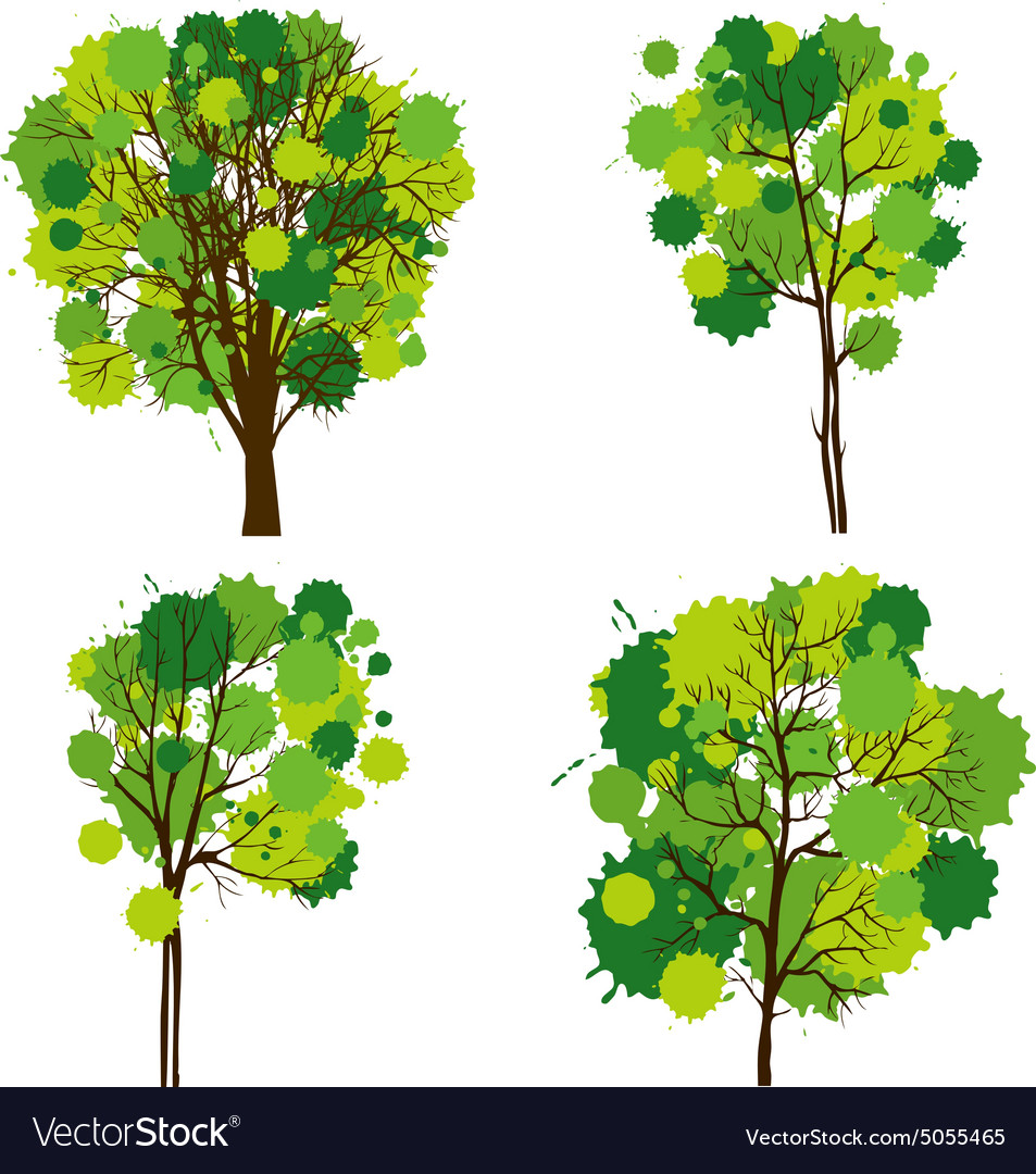 Set of abstract trees