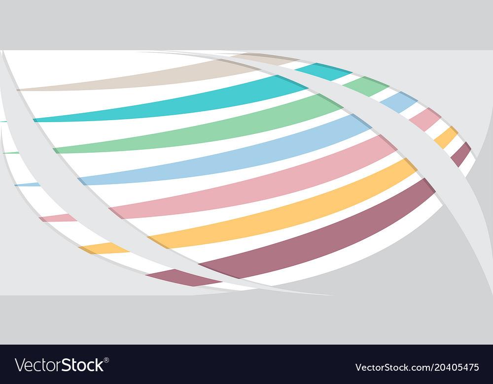 Abstract white wave designblue