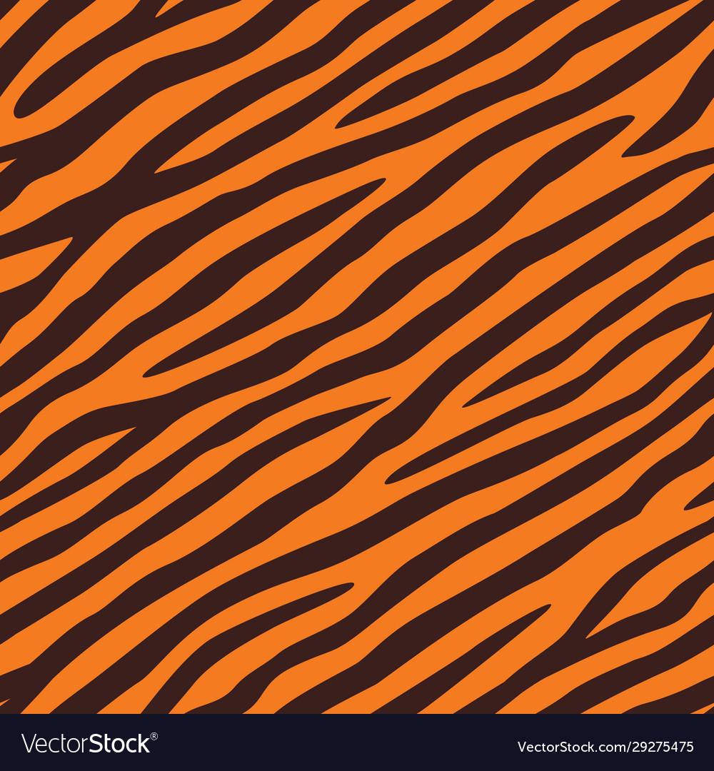 Background texture tiger skin seamless pattern