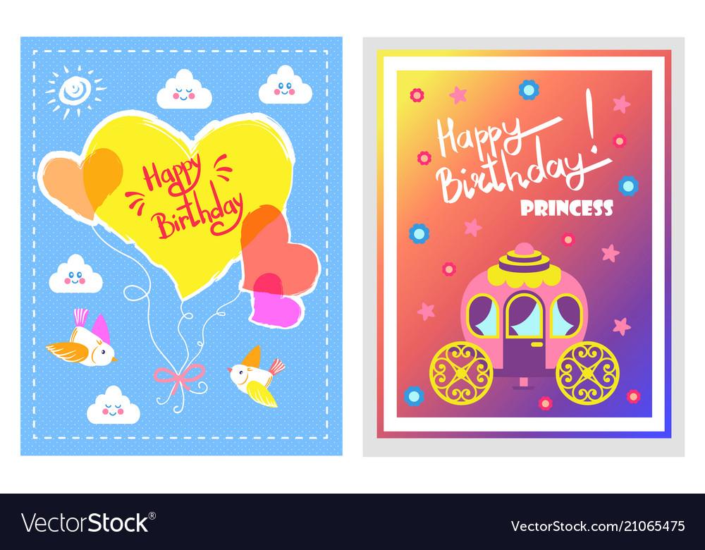 Happy birthday lovely set