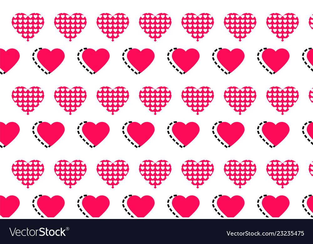 Love heart logo background love heart logo