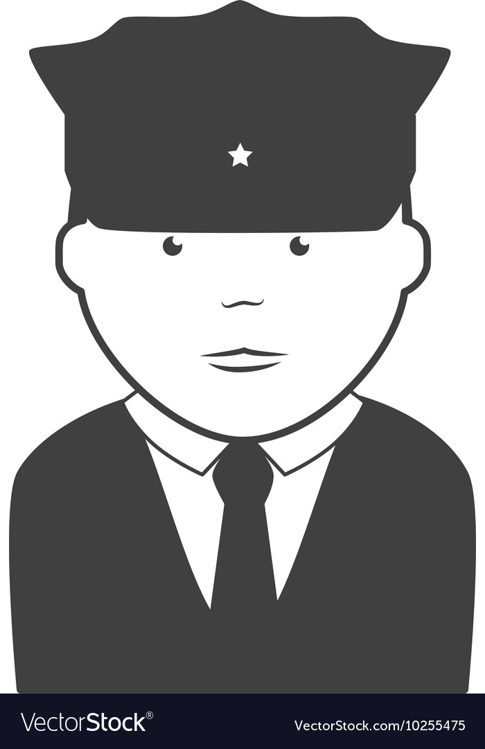 Security man police icon