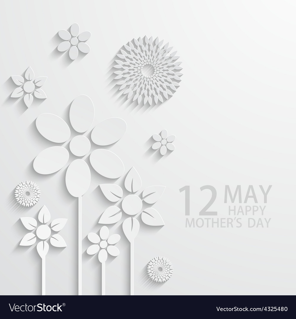 Modern 12 may mothers day background