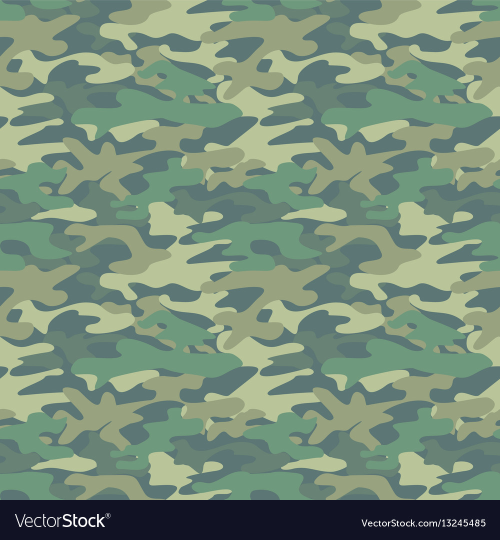 Abstract military green pattern