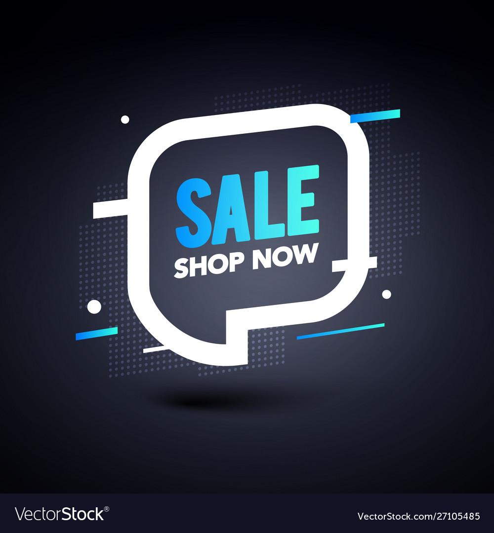 Sale banner template design big special offer