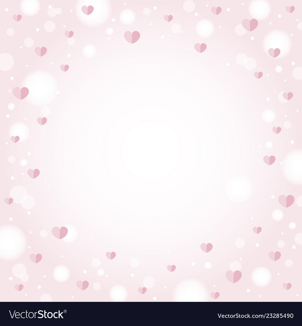 Abstract hearts background design for valentines
