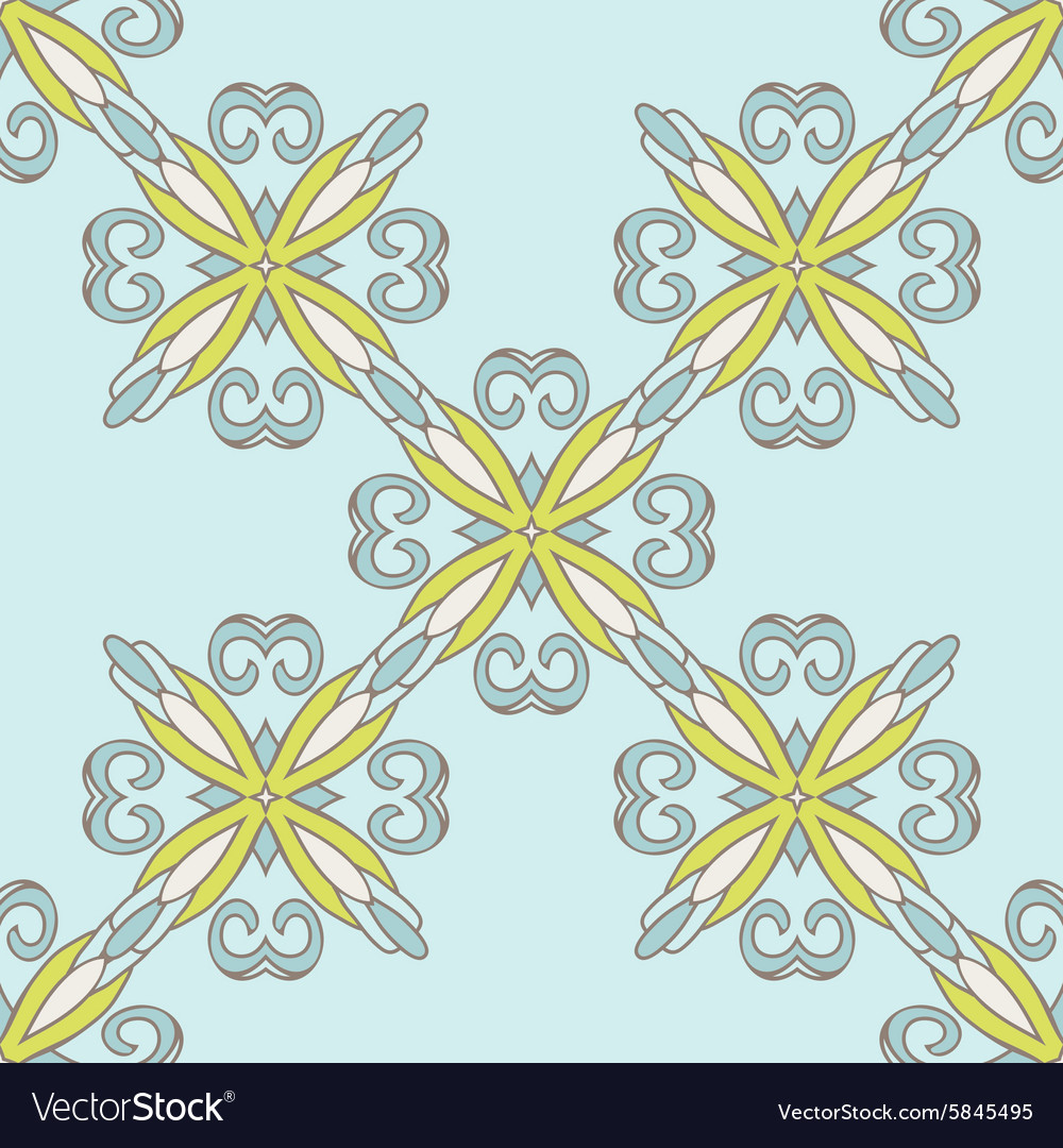 Seamless tiled pattern classical damask