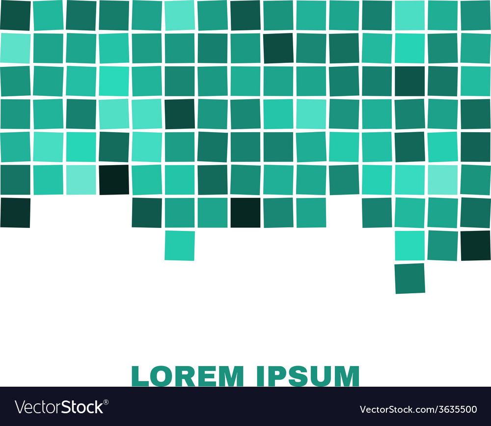 Abstract Squares Seamless Background