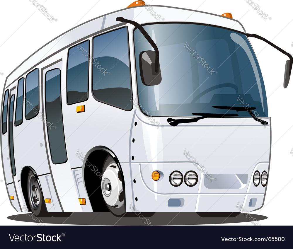 Tourist bus vector image