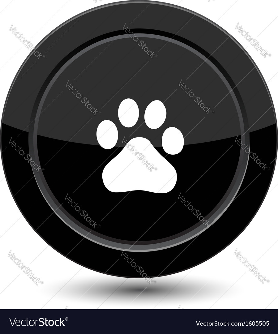 Button with trail foot
