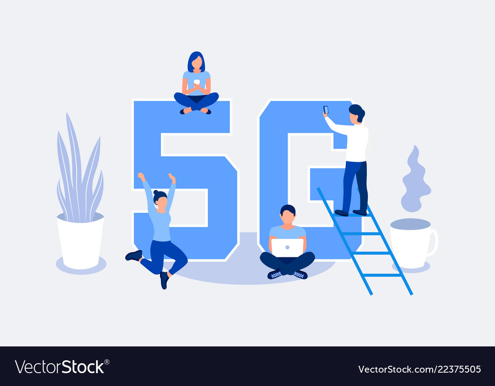 Fifth generation wireless 5g concept