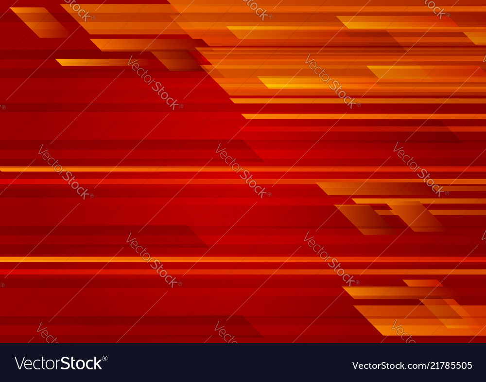 Geometric red color abstract background eps 10