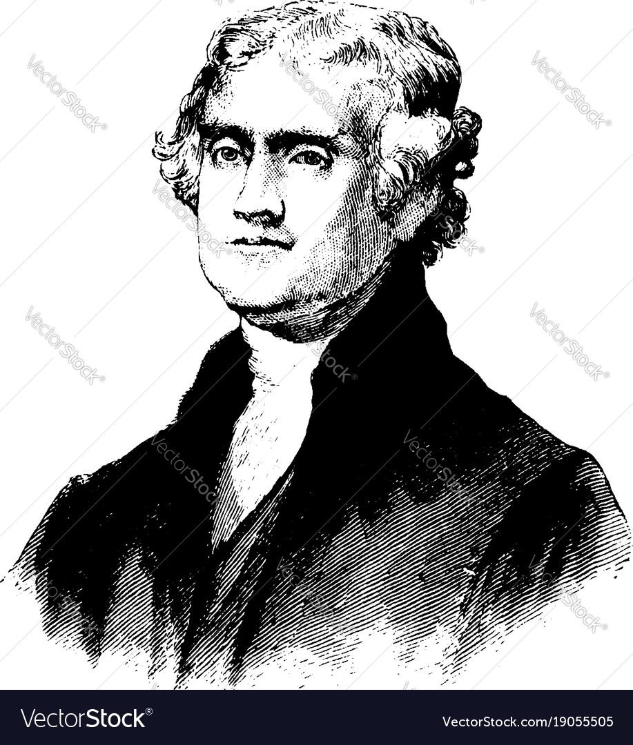 president thomas jefferson images - 585×585