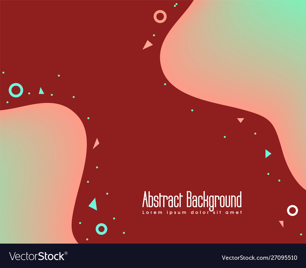 Abstract wave shaped background