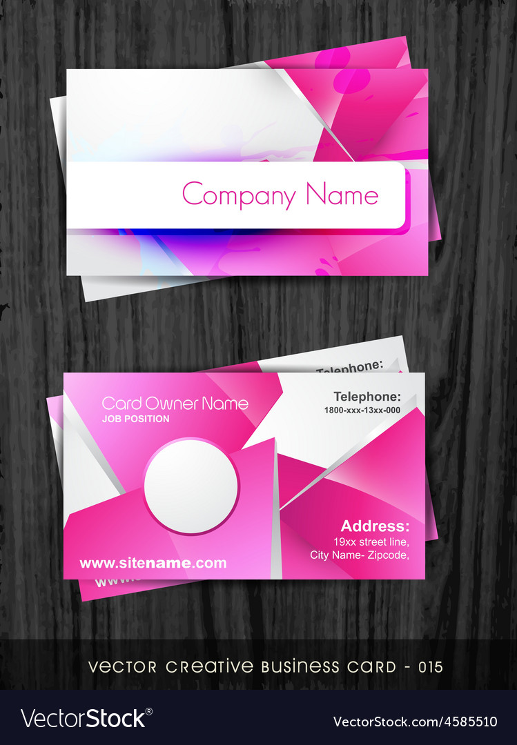 Funky business card royalty free vector image vectorstock funky business card vector image colourmoves