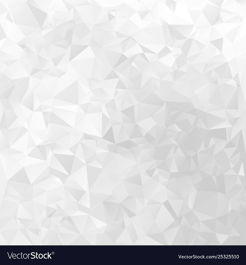White geometrical background triangular