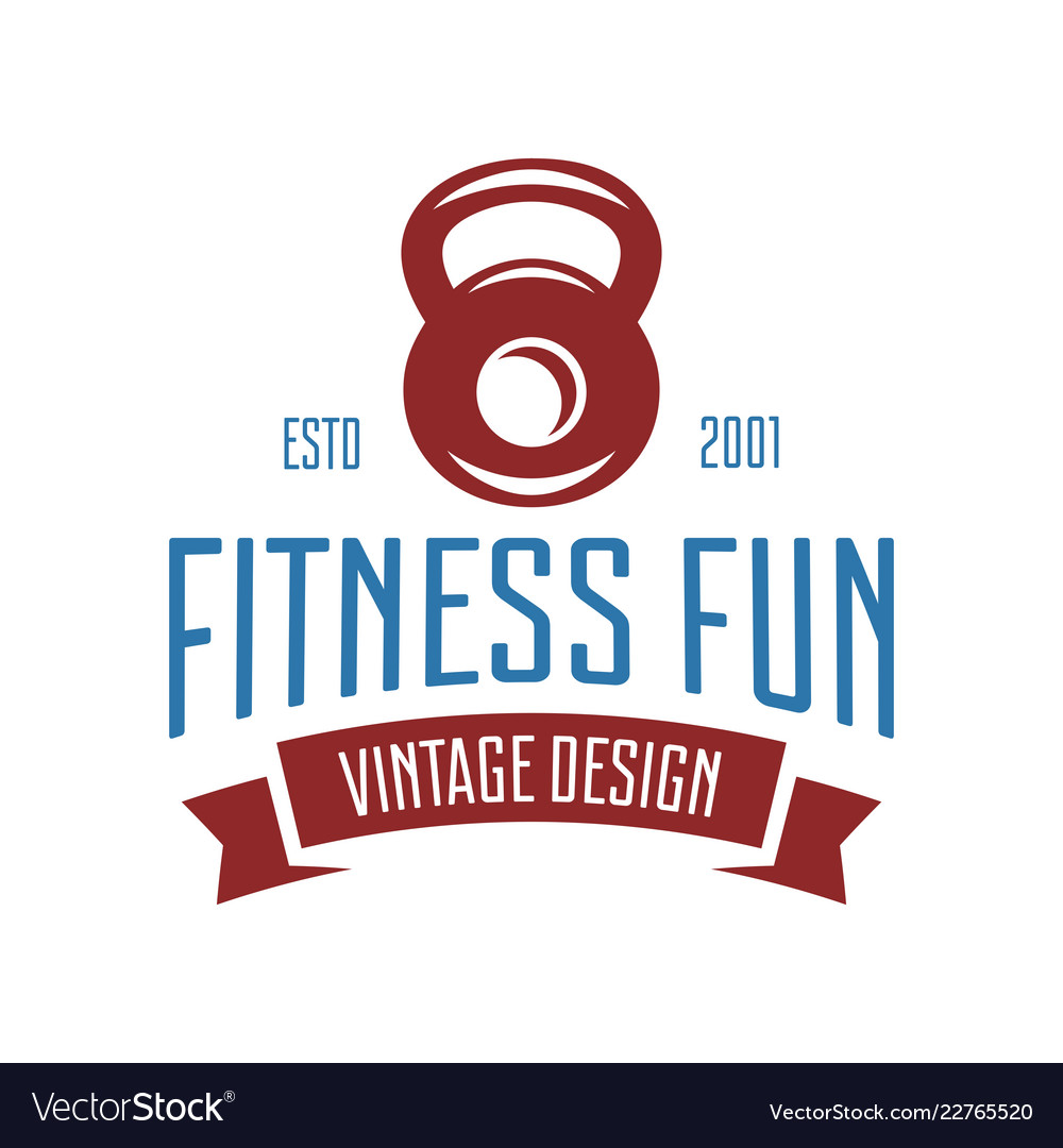 Fitness emblems signs labels badges logos and