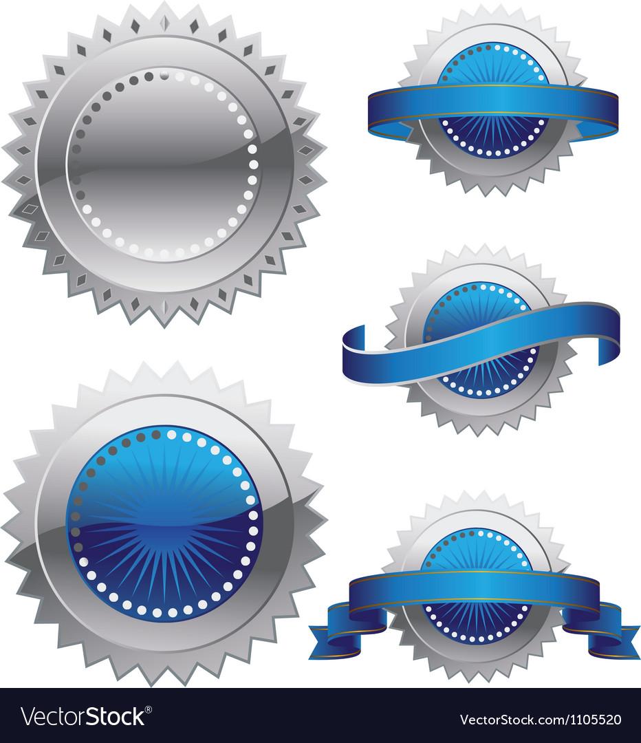 Medal Rosette vector image