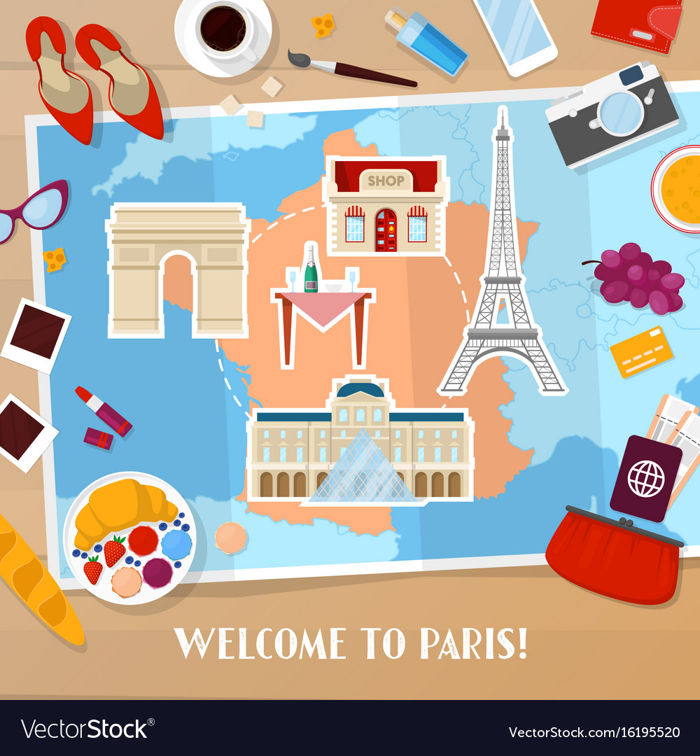 Travel to paris france tourism and vacation