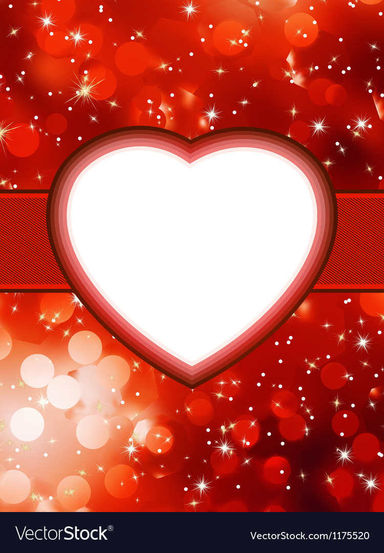 Valentines red abstract StValentines Day EPS 8
