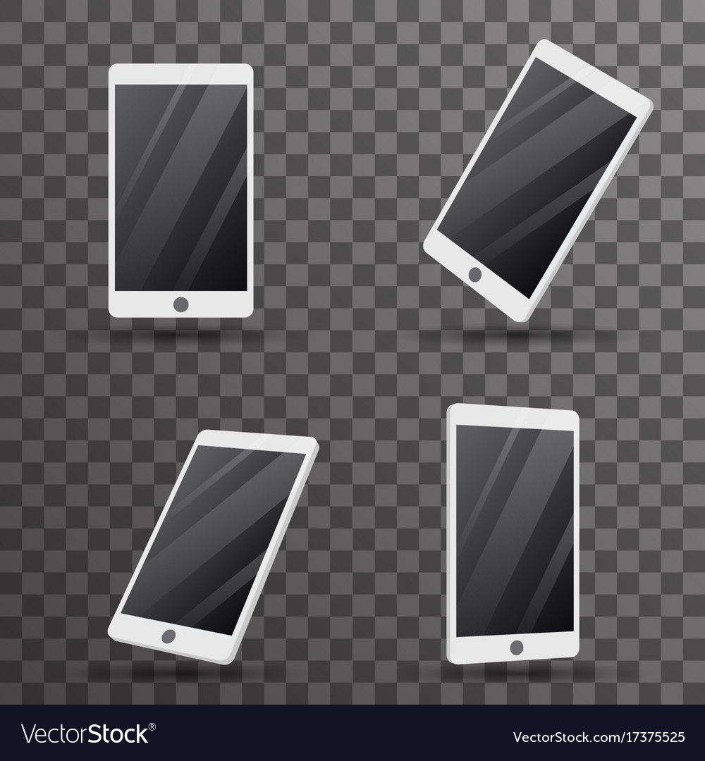 Mobile phone touch screen smartphone 3d isolated