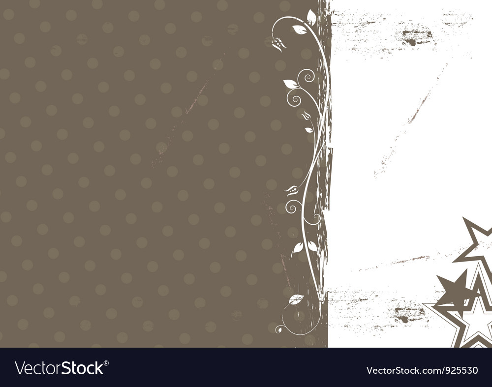 Grunge abstract background design vector image