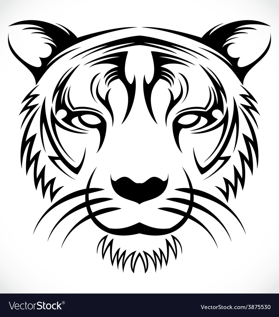 Tiger Face Tribal