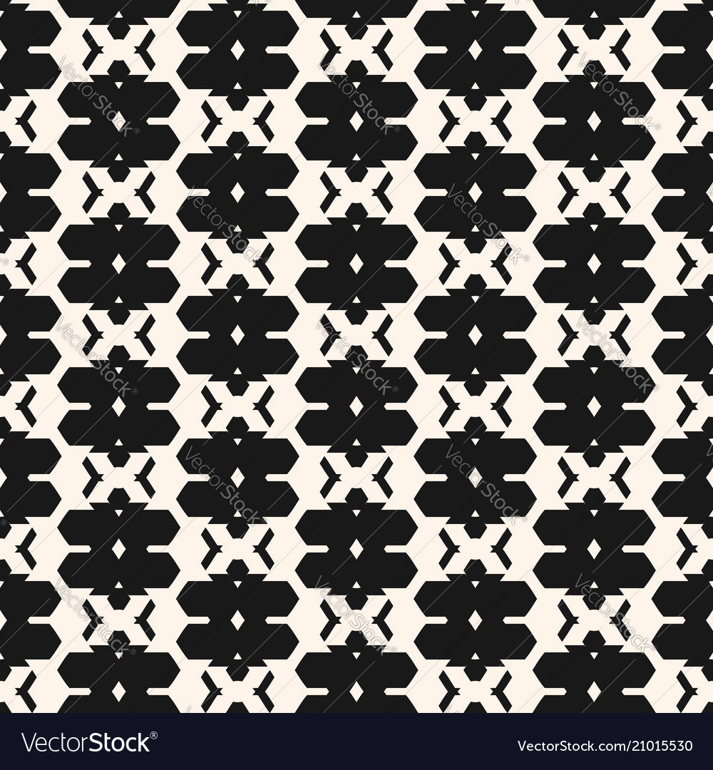 Traditional ornament abstract geometric seamless