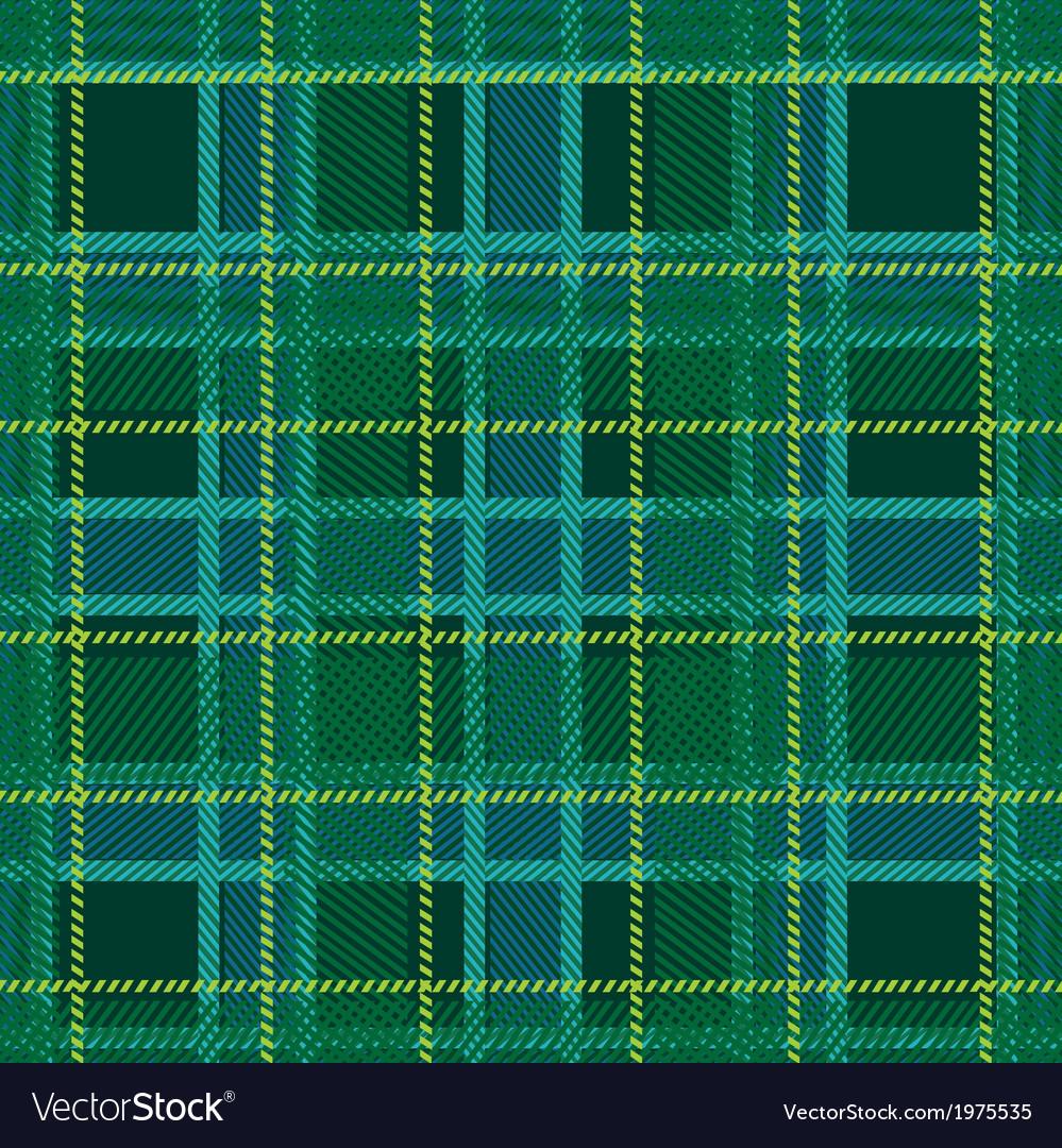 Fabric pattern vector image