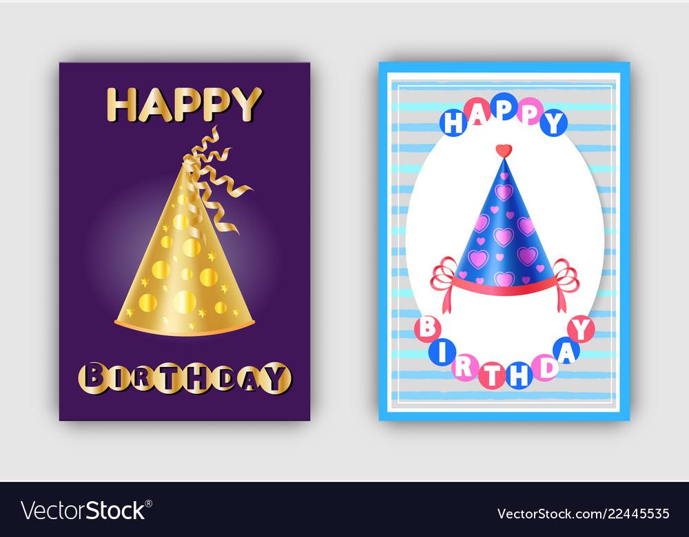 Happy birthday magic hats carnival headwear