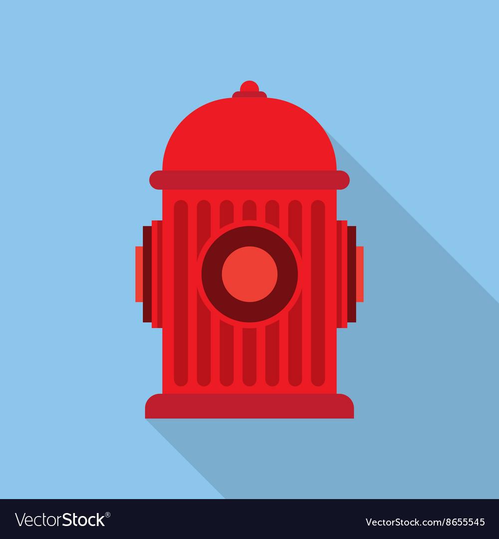 Fire Hydrant Symbol Royalty Free Vector Image Vectorstock