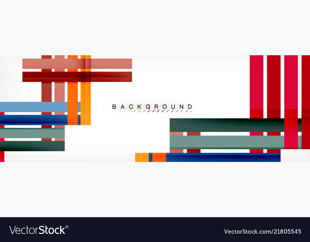 Minimal line design abstract background