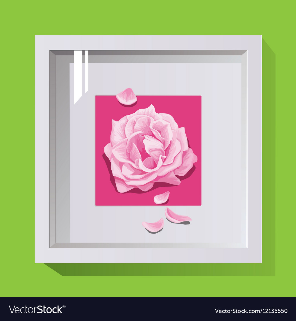 Decorative Frame For Design On The Wall Paintings