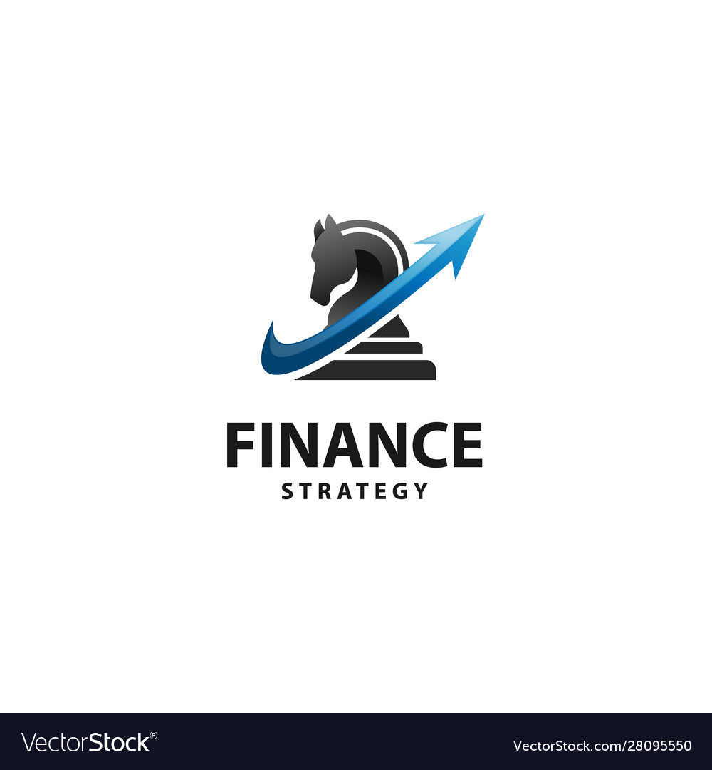Finance strategy vector