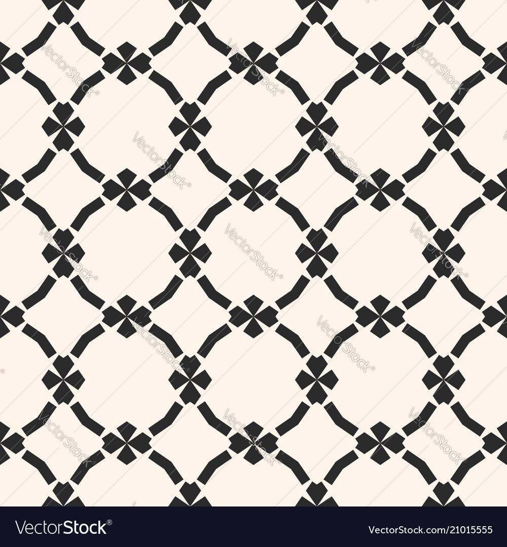 Ornamental mesh pattern in oriental style