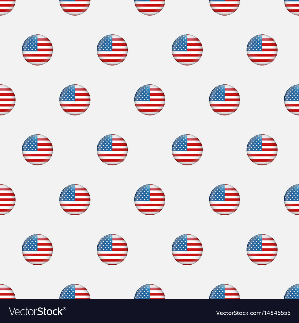 Stars and stripes seamless pattern usa
