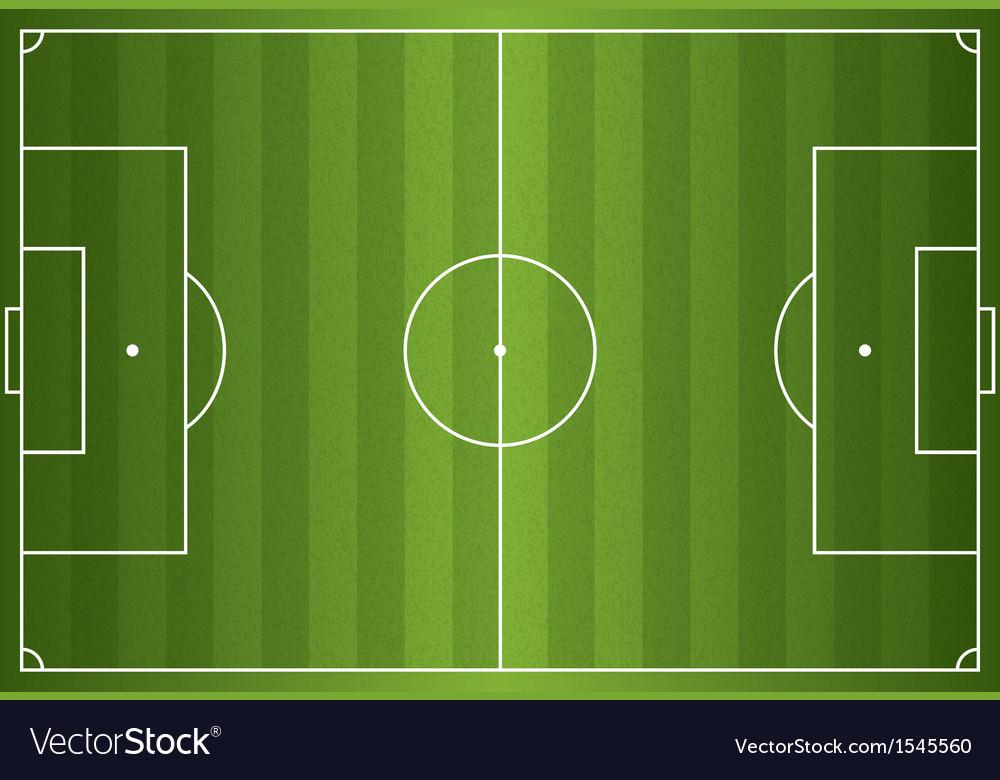 Grass textured soccer field