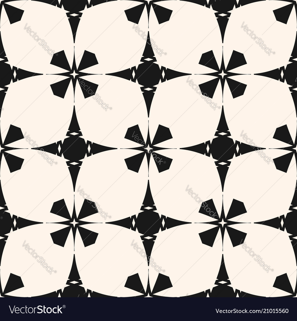 Ornamental seamless pattern geometric stars vector image