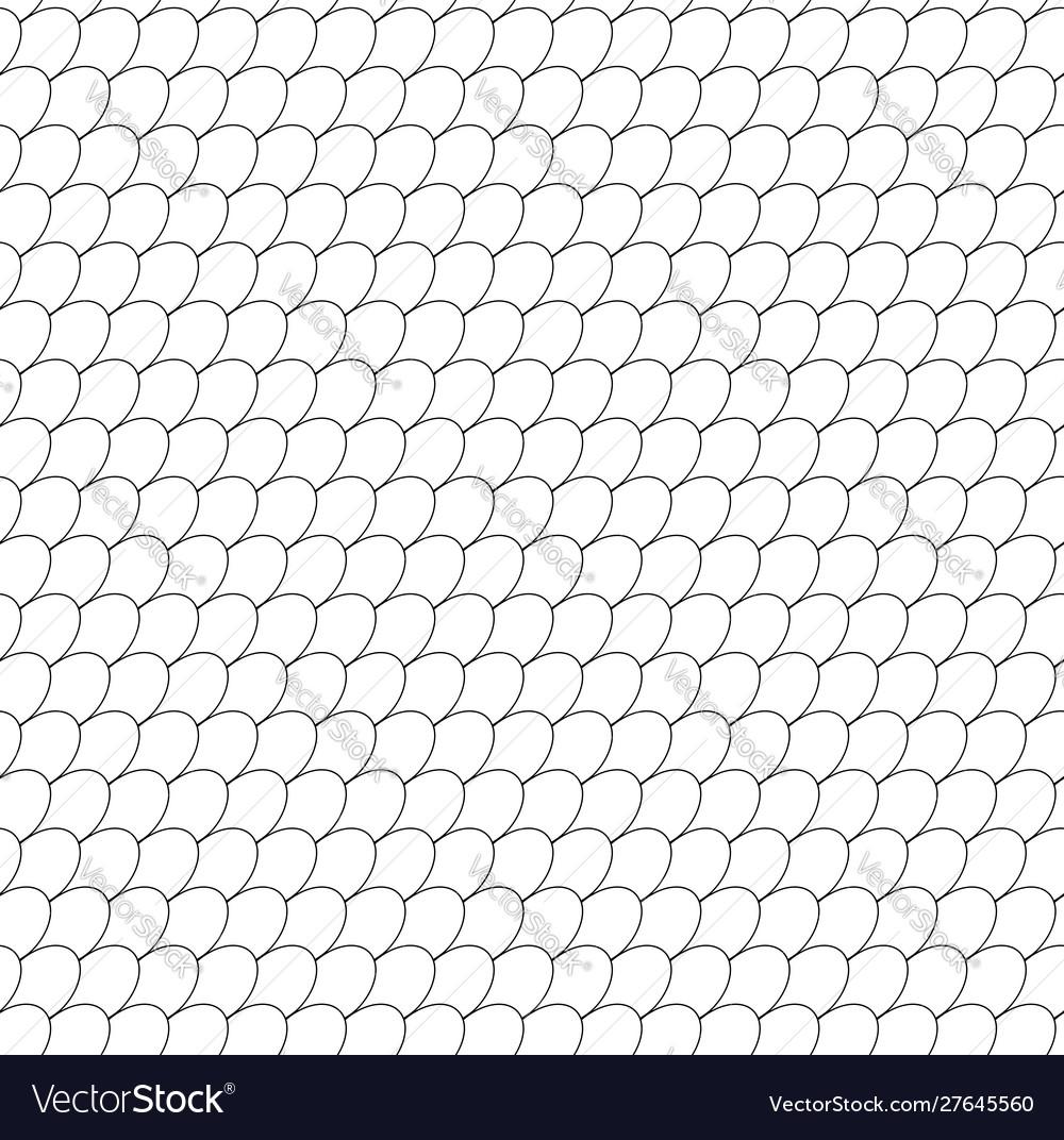 Seamless fish scale pattern