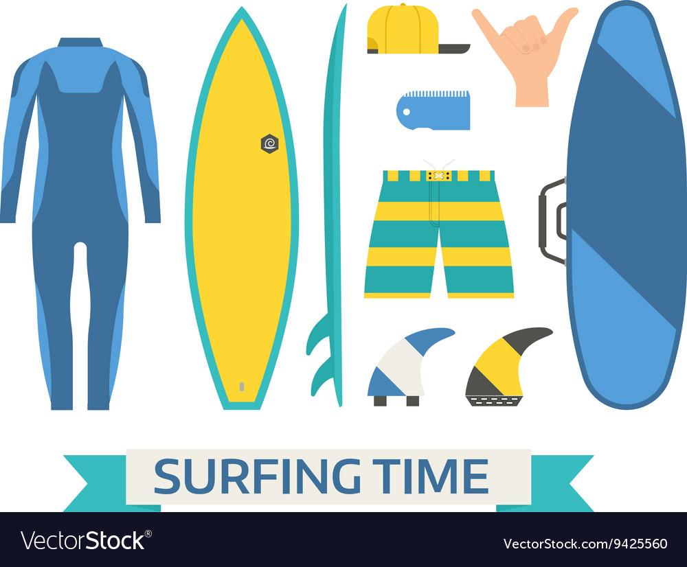 Surfing Equipment Set