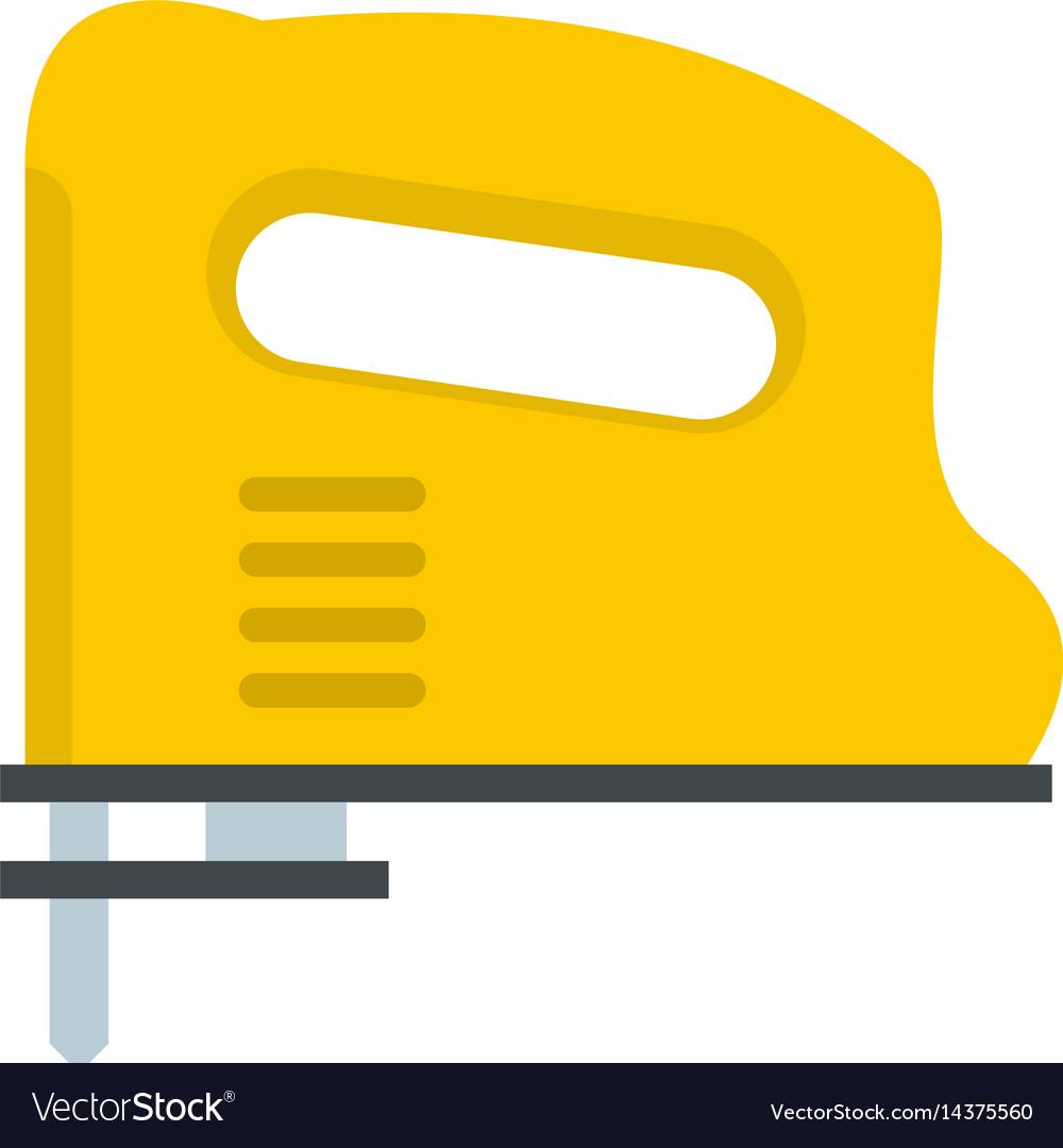 Yellow pneumatic gun icon isolated vector image