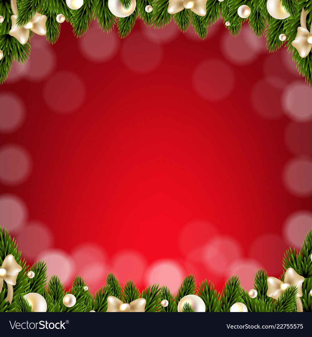 Christmas Card Border.Christmas Card With Border