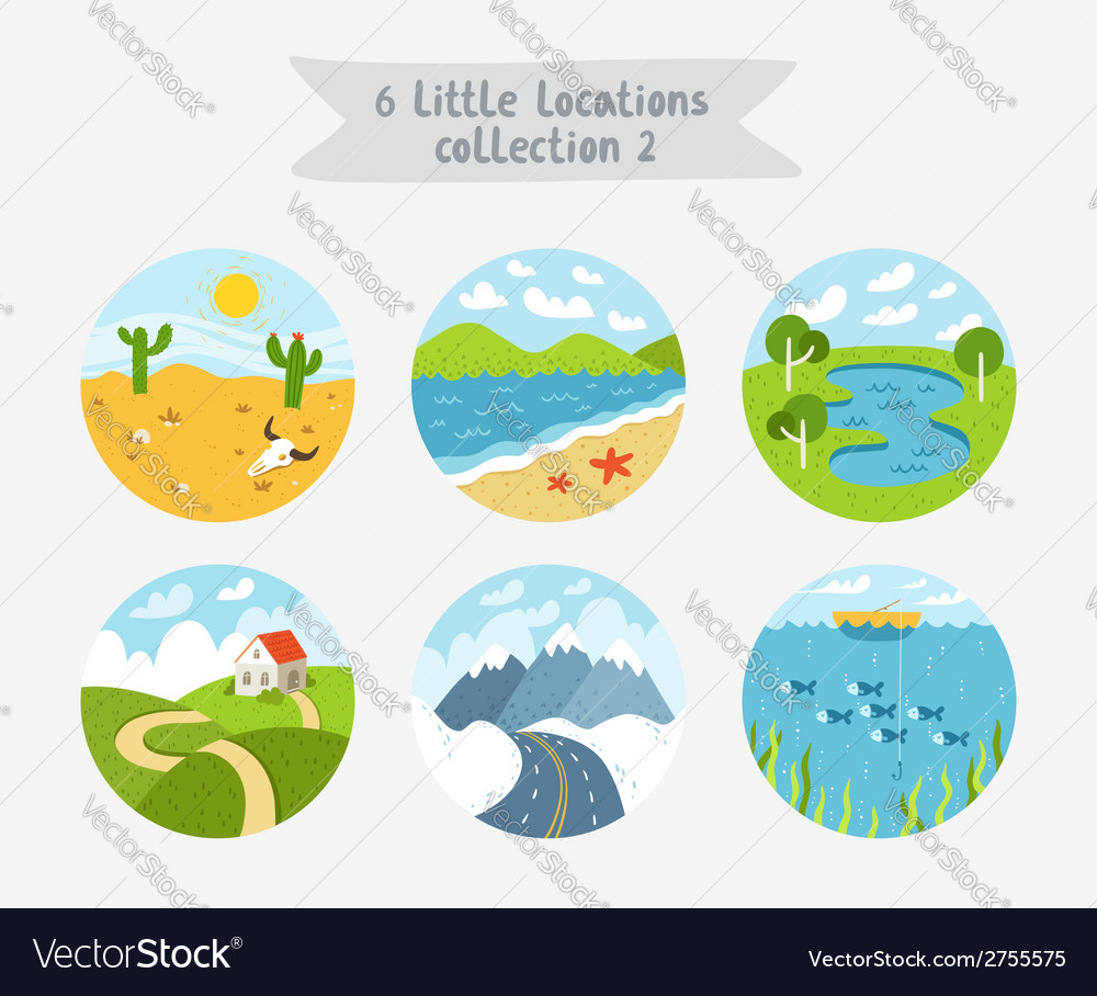 Little locations collection 2