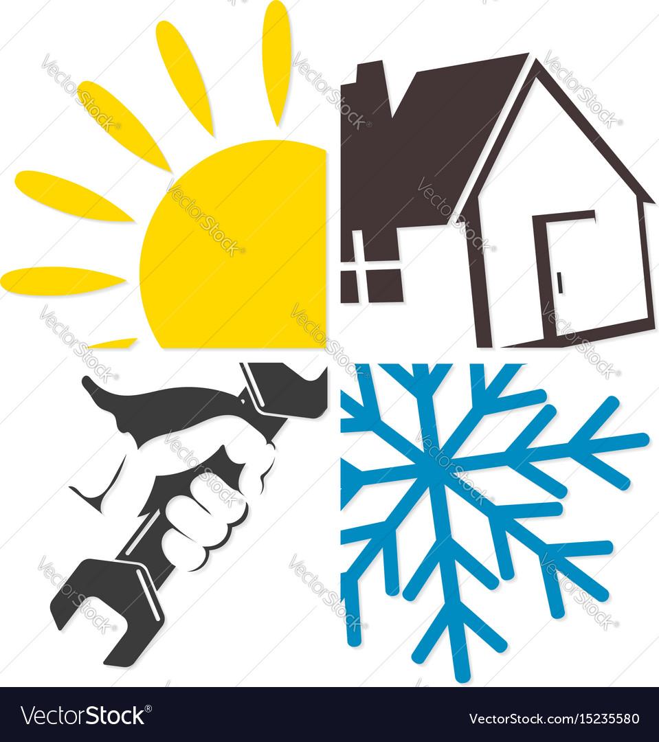 Repair of air conditioner and ventilation